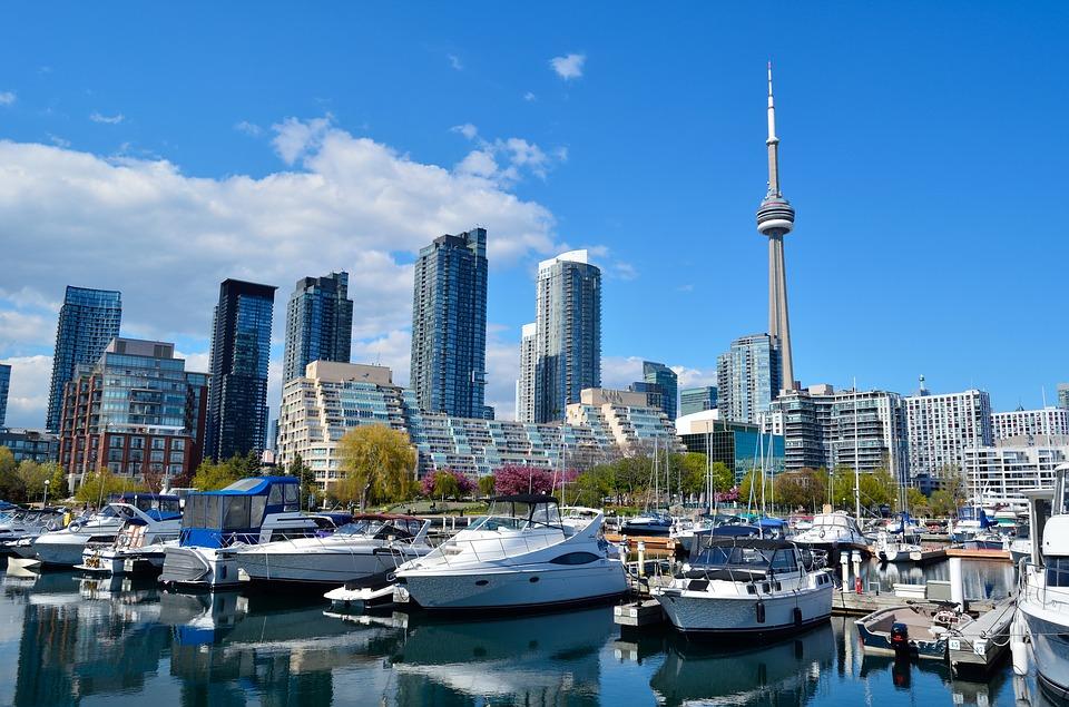 Boat in Toronto